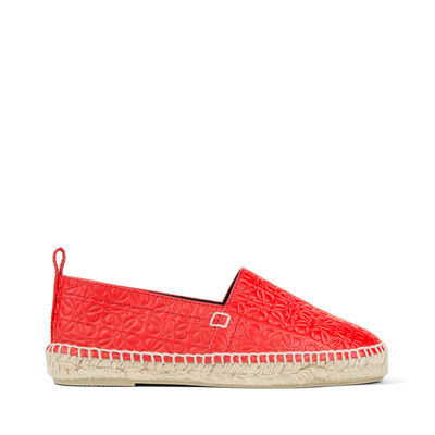 LOEWE Espadrille Repeat primary red front