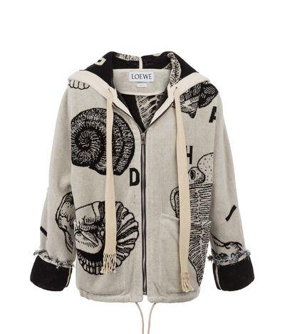 Zipped Hoodie Sweatshirt