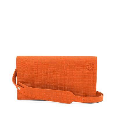 LOEWE Vega Bag オレンジ front