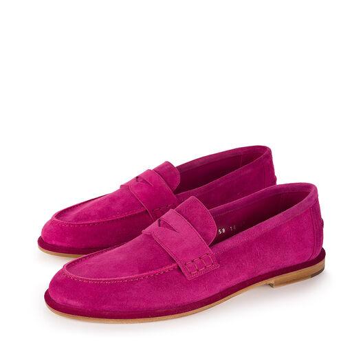 LOEWE Loafer Frambuesa all