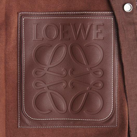 LOEWE Long Jacket Cognac all