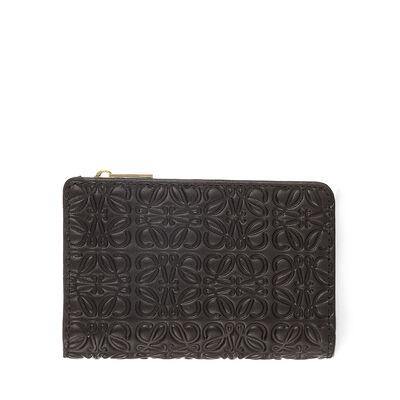 LOEWE Small Zip Wallet ブラック front
