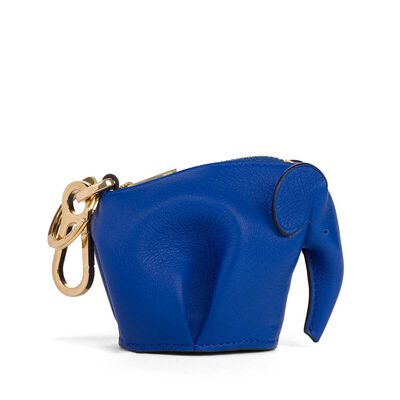 LOEWE Elephant Charm Electric Blue front