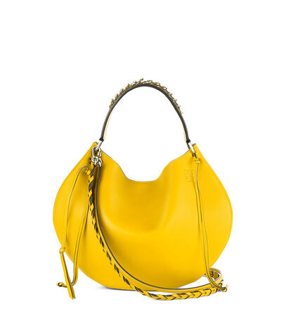 LOEWE Fortune Hobo Bag Yellow front