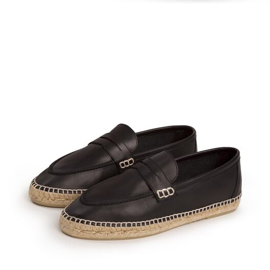LOEWE Loafer Espadrille Black all