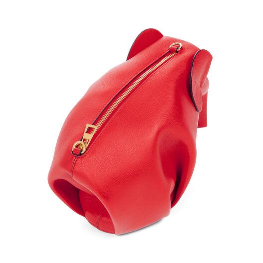 LOEWE Elephant Mini Bag Red all