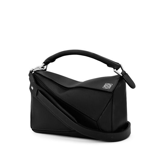 LOEWE Puzzle Small Bag Black all