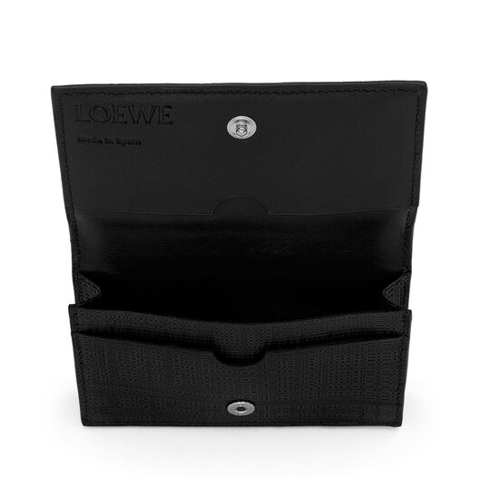 LOEWE Business Card Holder Black all