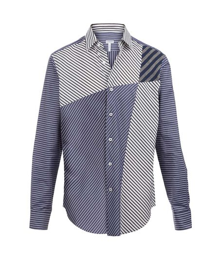 Shirt Patchwork Stripes