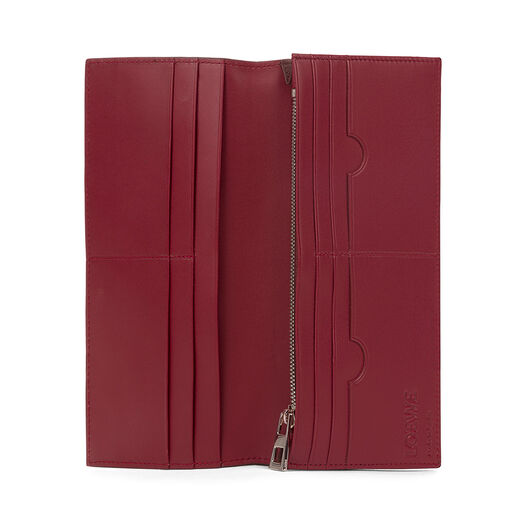 LOEWE Long Horizontal Wallet Chocolate/Burgundy all