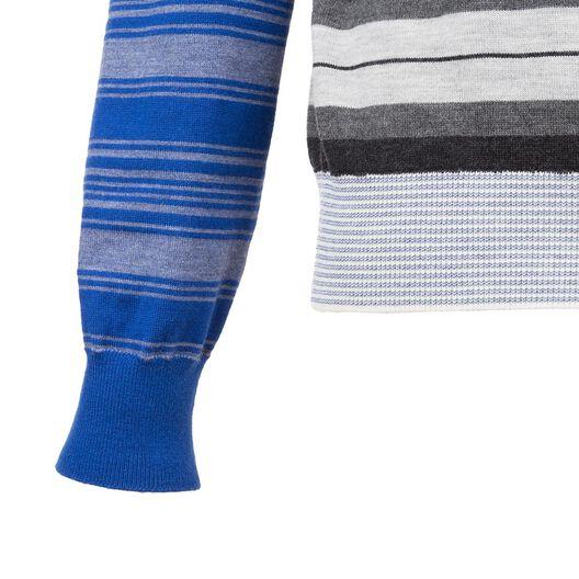 Crewneck Patchwork Stripes