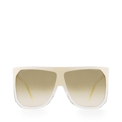 LOEWE Filipa Sunglasses Mother Of Pearl front