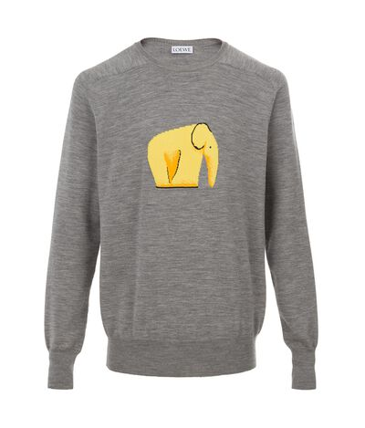 Crewneck Sweater Elephant