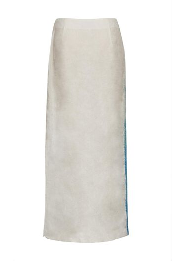 LOEWE Sequins Skirt Azul/Blanco all