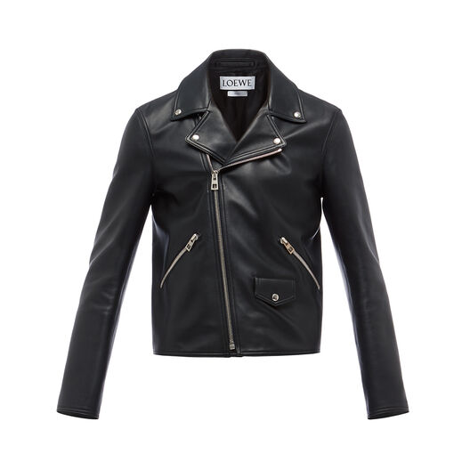 LOEWE Biker Jacket Black all