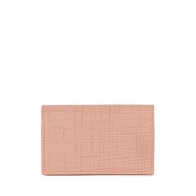 LOEWE Business Card Holder Blush front