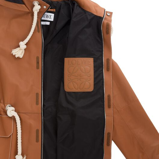 LOEWE Chaquetón Caramelo all