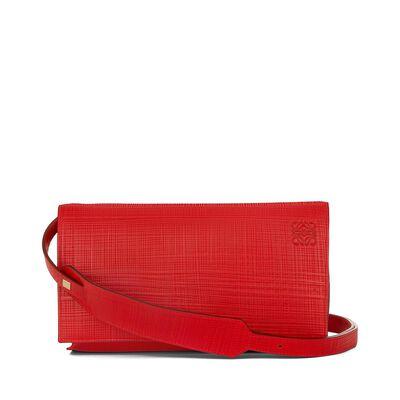 LOEWE Vega Bag Primary Red front