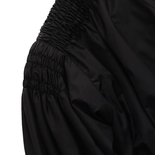 LOEWE Zip Jacket Smock Detail Black/White all