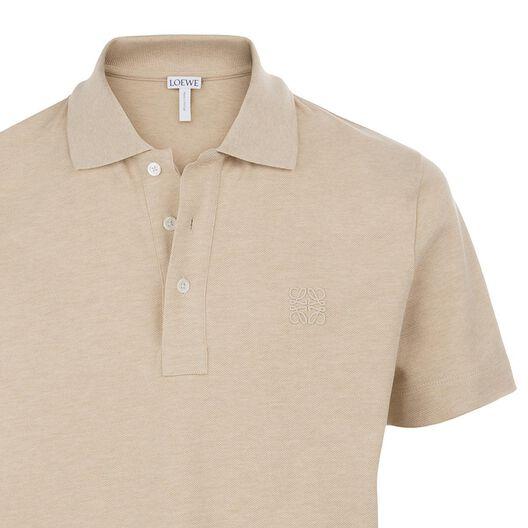LOEWE Short Sleeve Anagram Polo Calico all