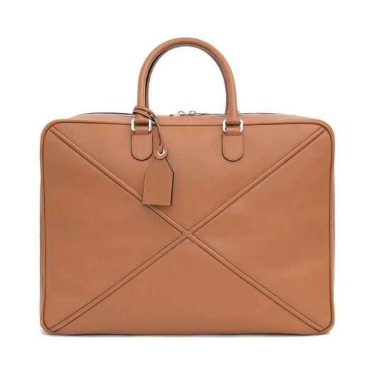 LOEWE Cross Soft Suitcase 55 Tan all