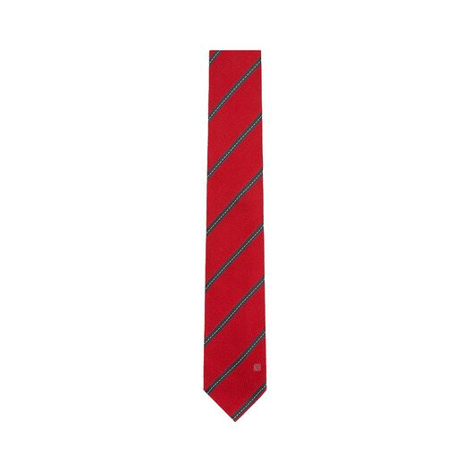 Stitching Stripes Jacquard Tie