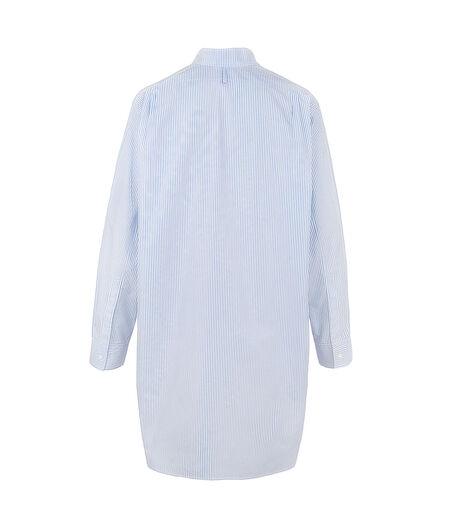 LOEWE Asymetric Shirt Light Blue/White all