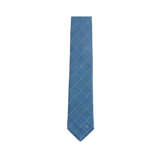 7Cm Stitching Checks Tie