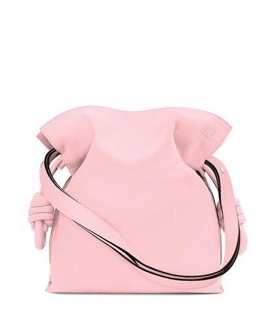 LOEWE Flamenco Knot Bag Soft Pink front