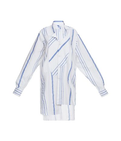 Asymetric Striped Shirt