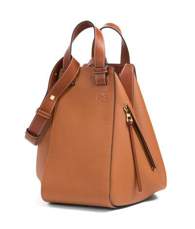 LOEWE Hammock Bag Tan front