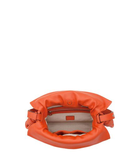 LOEWE Flamenco Knot Bag Coral all