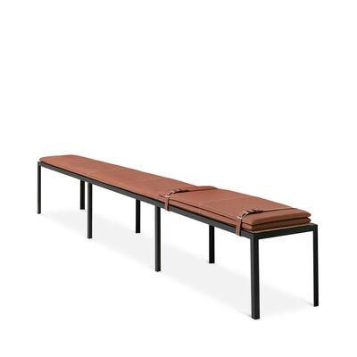 Set Long Bench W/ Leather Mat