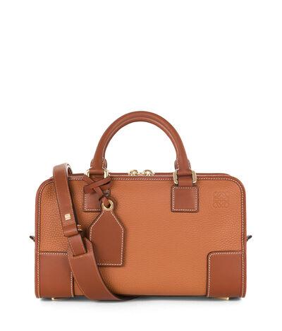 LOEWE Amazona 28 Bag Tan front