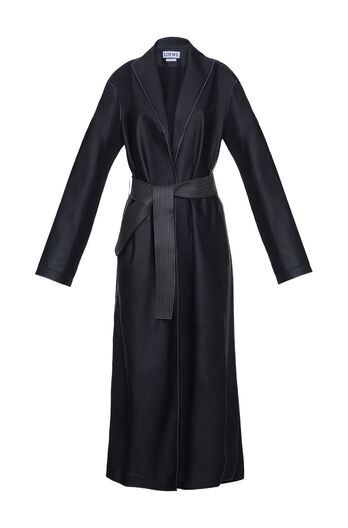 LOEWE Long Coat Black all