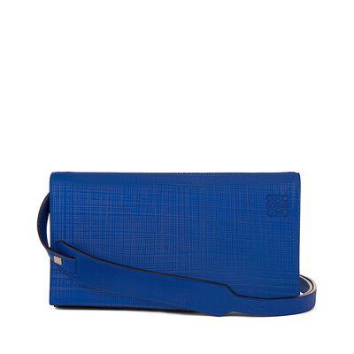 LOEWE Vega Bag Electric Blue front
