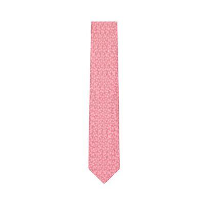 LOEWE 7Cm Bicolor Anagram Tie Strawberry front