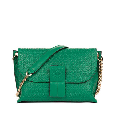 LOEWE Avenue Bag Green front