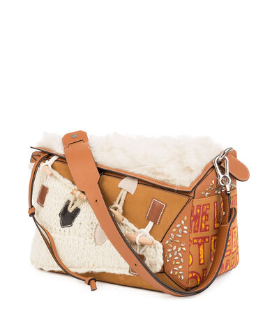 LOEWE Puzzle Xl Bag Cream/Tan front