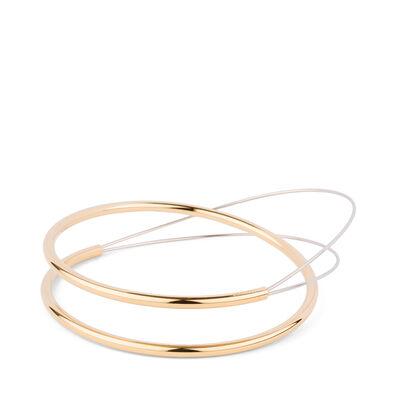 LOEWE Wire Bracelet Gold/Palladium front
