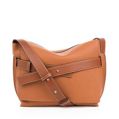 LOEWE Messenger Belt Small Bag Tan front