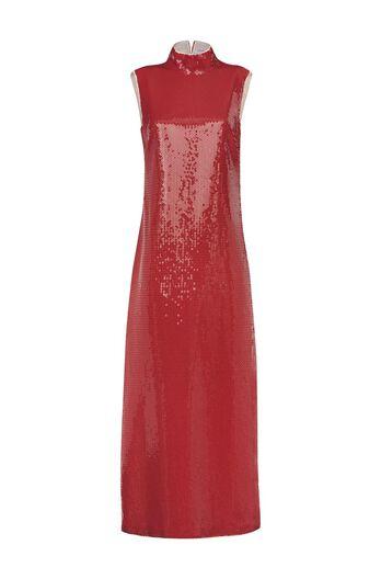 Front Sequins Dress
