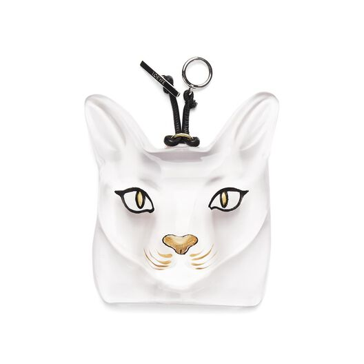 LOEWE Cat Face Charm Transparent all
