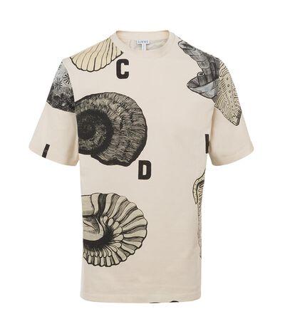 Camiseta Fossil Print