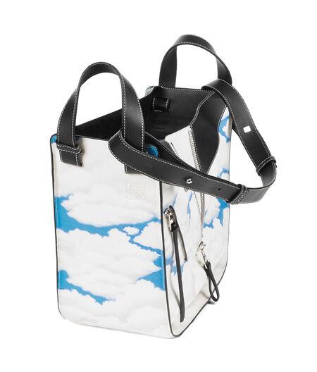 LOEWE Bolso Hammock Clouds Negro/Azul all
