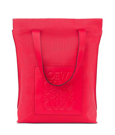 LOEWE Shopper Bag primary red front
