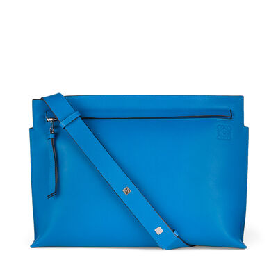 LOEWE T Messenger Bag Turquoise front