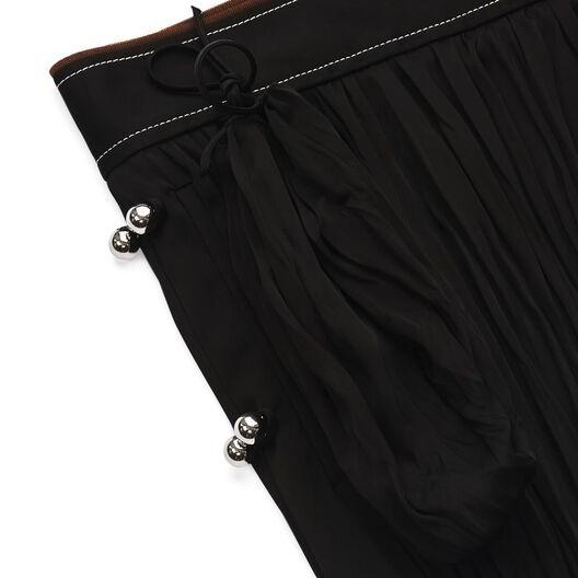 LOEWE Crinkle Skirt Black all