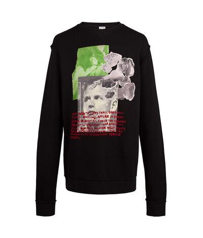 LOEWE Ov Sweatshirt Adonis Black front