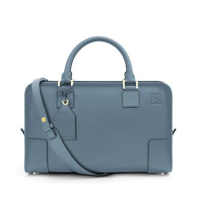 LOEWE Amazona Bag stone blue front